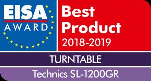 EISA 2018–2019 Technics SL-1200GR